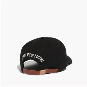 Ciao For Now Madewell Baseball Hat Leather